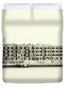 Old Coffee And Cotton Warehouse Duvet Cover