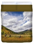 Old Colorado Duvet Cover
