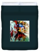 Old Consciousness Duvet Cover
