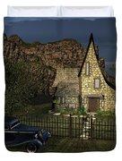 Old Cottage Duvet Cover