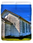 Old Country Church Duvet Cover