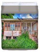 Old Curepe House Duvet Cover