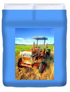 Old David Brown Tractor  Duvet Cover