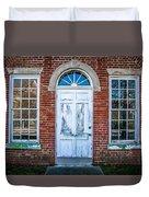 Old Door And Windows Duvet Cover