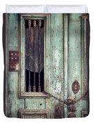 Old Door Detail Duvet Cover