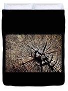 Old Dry Stump Duvet Cover