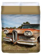 Old Edsel Duvet Cover