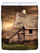 Old English Barn Duvet Cover