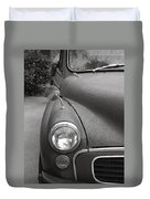 Old English Car Duvet Cover