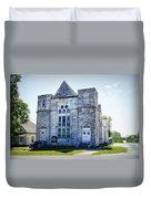 Old English Congregational Church Duvet Cover