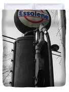 Old Essolene Pump Duvet Cover