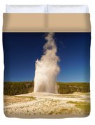 Old Faithful IIi Duvet Cover