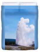 Old Faithful Duvet Cover