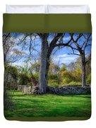 Old Family Plot In Cromwell Valley Park Duvet Cover