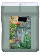 Old Farm Door Duvet Cover