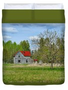 Old Farm House In Langley Duvet Cover