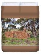 Old Farm House Ruin  Duvet Cover