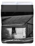 Old Farm Shed Duvet Cover