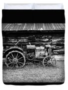 Old Farm Tractor Duvet Cover