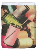 Old Fashion Threads Duvet Cover
