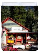 Old Fashioned General Store Duvet Cover