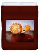 Old Fashioned Orange Duvet Cover