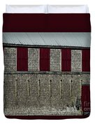Old Fish House Duvet Cover
