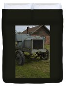 Old Flat Bed Truck Duvet Cover