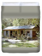 Old Florida Home Duvet Cover