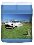 1954 Ford Victoria Duvet Cover