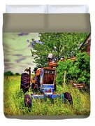 Old Ford Tractor Duvet Cover