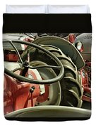 Old Ford Tractors Duvet Cover