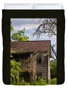 Old Forgotten Farm House Duvet Cover