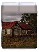 Old Forgotten Farmstead Duvet Cover