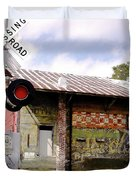 Old Freight Depot Perry Fl. Built In 1910 Duvet Cover
