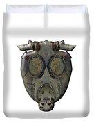 Old Gas Mask Duvet Cover