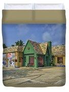 Old Gas Station Route 66 Cuba Mo Dsc05559 Duvet Cover