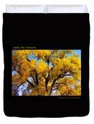Old Giant  Autumn Cottonwood Orton Duvet Cover