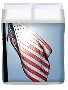 Old Glory - Long May She Wave Duvet Cover
