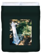Old Grave Site Duvet Cover