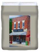 Old Guerins Pharmacy Duvet Cover