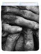 Old Hands 3 Duvet Cover