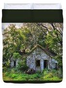 Old House Blues Duvet Cover