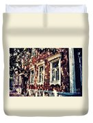 Old House In Moscow Duvet Cover