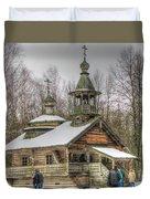 Old House Izba Duvet Cover