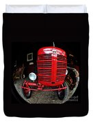 Old International Harvester Tractor Duvet Cover