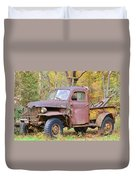 Old Jalopy Duvet Cover