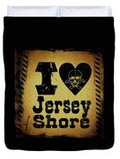 Old Jersey Shore Duvet Cover