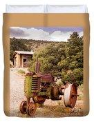 Old John Deer Tractor Duvet Cover