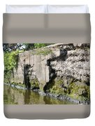 Old Lock And Dam Duvet Cover